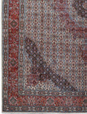 10x13 Authentic Hand-knotted Persian Signed Moud Rug - Iran