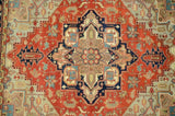 Harooni Rugs - Exotic 8x10 Authentic Hand Knotted Serapi Rug - India
