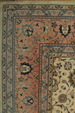 Harooni Rugs - Dazzling 10x18 Authentic Hand-knotted High End Indian Kashmir Traditional - Rug