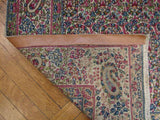 5x8 Authentic Handmade Persian Kerman Rug-Iran