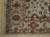 Harooni Rugs - Dazzling 8x10 Authentic Hand-Knotted Mahal Rug - India