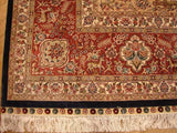 8x10 Authentic Handmade Fine Silk Rug-Zhenping Collection - China
