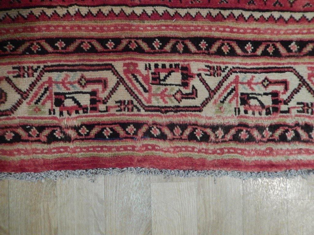 5x10 Authentic Handmade Semi-Antique Persian Mir Runner - Iran
