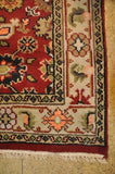 Harooni Rugs - Dazzling 4x6 Authentic Hand-Knotted Mahal Rug - India