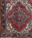 10x1 Authentic Hand-knotted Persian Heriz Rug - Iran