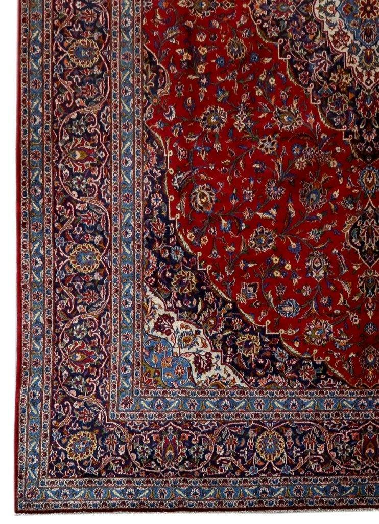 12x17 Authentic IRAN CLASSIC Persian Signed Kashan Rug - 81255