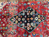 Harooni Rugs - Vintage 4x7 Authentic Hand Knotted Persian Mahal Rug - Iran