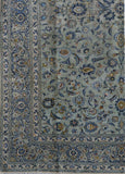 9x12 Authentic Hand-knotted Persian Signed Kashan Rug - Iran