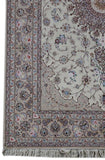 7x10 Authentic Hand-knotted Persian Isfahan Rug - Iran
