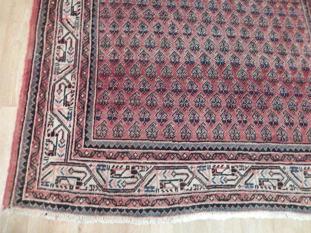 5x11 Authentic Hand Knotted Persian Sarouk Mir Runner - Iran