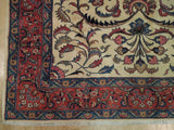 7x10 Authentic Hand Knotted Fine Persian Sarouk Rug - Iran