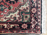 Harooni Rugs - Dazzling 3x23 Authentic Handmade Heriz Runner - India