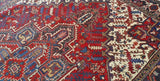 8x11 Authentic Hand Knotted Persian Heriz Rug - Iran