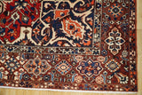 10x13 Authentic Hand Knotted Semi-Antique Persian Bakhtiari Rug - Iran