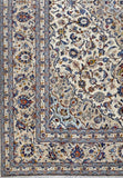 8x12 Authentic Hand-knotted Persian Signed Kashan Rug - Iran