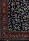 Harooni Rugs - Vintage 10x13 Authentic Hand-knotted Persian Signed Kashmar Rug - Iran
