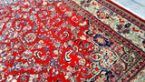 10x14 Authentic Hand Knotted Persian Mahal Rug - Iran