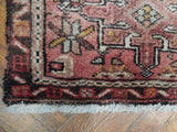 2x11 Authentic Hand Knotted Semi-Antique Persian Karaja Runner - Iran