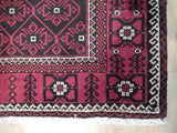 4x7 Authentic Hand Knotted Turkoman Persian Baluch Rug - Turkmenistan