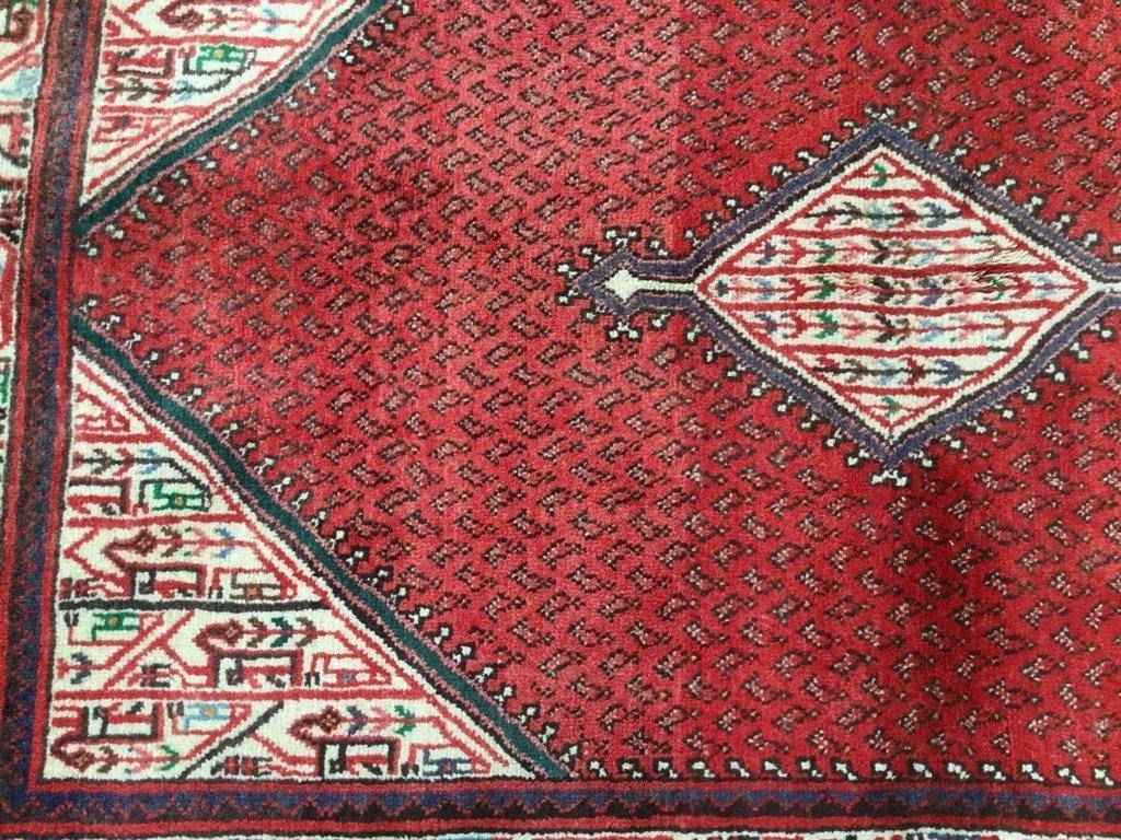 4x7 Authentic Hand Knotted Persian Sarouk Mir Rug - Iran
