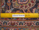 Harooni Rugs - Vintage 10x14 Authentic Hand-knotted Persian Signed Kashan Rug - Iran