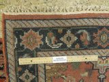 Harooni Rugs - Dazzling 3x8 Authentic Hand Knotted Mahal Runner - India