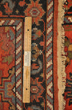 Harooni Rugs - Dazzling 3x8 Authentic Hand-Knotted Mahal Runner Rug - India