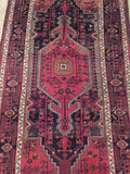 5x10 Authentic Hand Knotted Semi-Antique Persian Koliai Runner - Iran