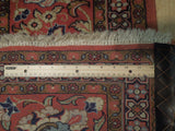 8x11 Authentic Hand Knotted Persian Isfahan Rug - Iran