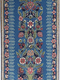 2x4 Authentic Hand-knotted Persian Kerman Rug - Iran