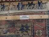Harooni Rugs - Premium 3x13 Authentic Hand Knotted Antique Russian Kazak Runner - Russia