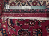 9x13 Authentic Hand Knotted Semi-Antique Persian Mahal Rug - Iran