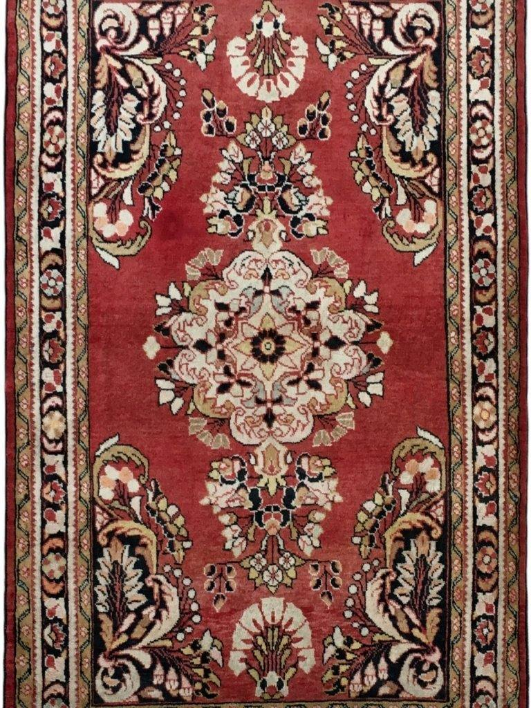 4x5 Authentic Hand-knotted Persian Hamadan Rug - Iran - bestrugplace