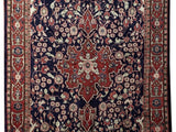 4x7 Authentic Hand-knotted Persian Malayer Rug - Iran