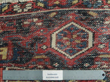 8x11 Authentic Handmade Antique Persian Heriz Rug - Iran