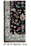 Harooni Rugs - Dazzling 2x4 Authentic Handmade Hunting Rug - India
