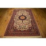 Authentic Hand-Knotted 4x8 Rug - Traditional