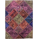 Harooni Rugs - Premium 4x6 Authentic Handmade Antique Persian Patchwork Rug - Iran