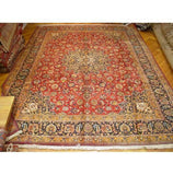 10 x 14 Authentic Handmade Mashad Rug - Traditional