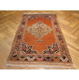 Harooni Rugs - Premium 3x6 Authentic Handmade Antique Persian Rug-Iran