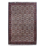 Harooni Rugs - Authentic Hand-Knotted 3x5 EB Mood Bijar Rug - Traditional