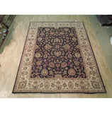 Dazzling 10x8 Authentic Hand Knotted Vegetable Dyed Chobi Rug - India