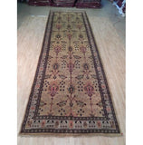 Harooni Rugs - Exotic 6x18 Authentic Hand Knotted William Morris Runner - India