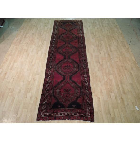 4x12 Semi Antique Persian Koliai Runner - Traditional