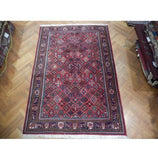 Authentic Hand-Knotted 6x8 Persian Josheghan Rug - Traditional
