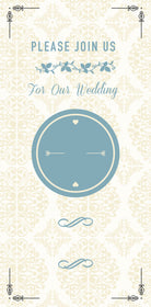 Wedding Invitation 4x9
