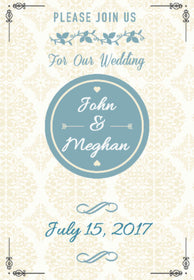 Wedding Invitation 5x7