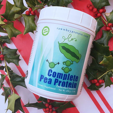 For a Limited Time, Get up to 25% off on our Complete Pea Protein!
