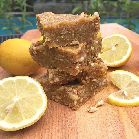 Lemon Ginger Protein Chews