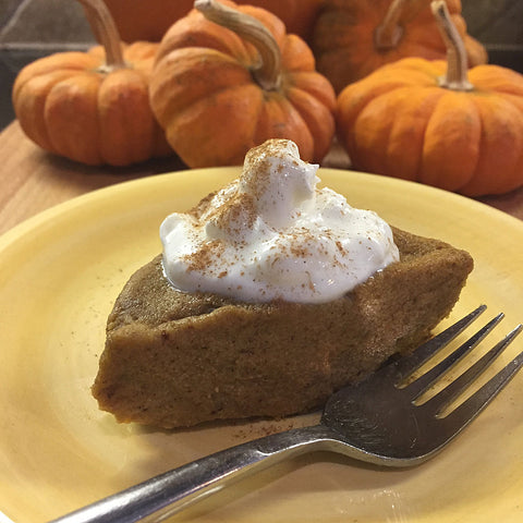 Delicious No Bake Pumpkin Pie